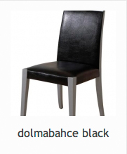 Chair Model : Dolmabahace Black