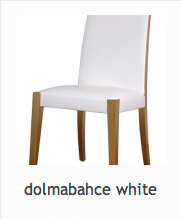 Chair Model : DolmabahaceWhite